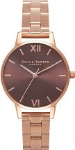 Ladies Olivia Burton Brown Dial Watch OB16BL36