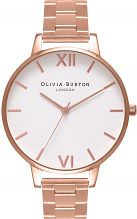 Ladies Olivia Burton Big Dial Bracelet Watch OB16BL33
