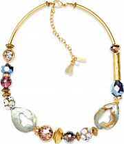 Ladies Lonna And Lilly Gold Plated Gold Standard Necklace 60441188-E50