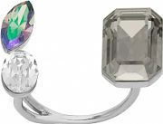 Ladies Lola & Grace Rhodium Plated Glam Ring 5251740