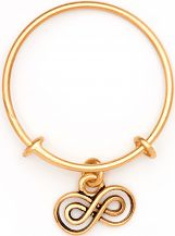 Ladies Chrysalis Gold Plated Spirited Infinity Expandable Ring CRRT0005GP