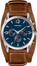 Mens Kahuna Chronograph Cuff Watch KCS-0013G