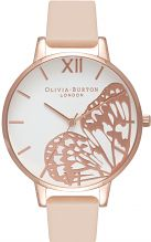 Ladies Olivia Burton Animal Motif Butterfly Wing Watch OB16AM94