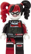 Childrens LEGO Batman Movie Harley Quinn minifigure clock Alarm 9009310