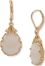 Ladies Lonna And Lilly Gold Plated Drop Earrings 60461015-I15