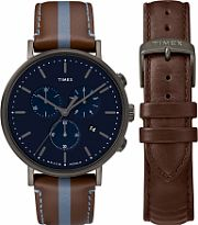 Mens Timex Fairfield Box Set Watch TWG016800