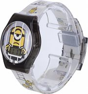 Childrens Character Despicable Me 3 Printed Strap LCD Watch MNS115