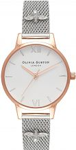 Ladies Olivia Burton 3D Bee Rose Gold & Silver Mesh Watch OB16ES04