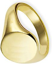 Oxford Classic  Signet Ring Size V