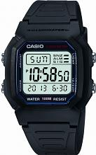 "casio watches edifice g shock more watch shop comâ""¢ mens casio sports gear alarm chronograph watch w 800h 1aves"