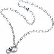 Ladies Royal London Sterling Silver Charm Necklace RLSN0001