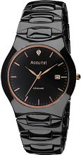 Mens Accurist London Ceramic Watch MB992R