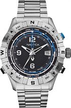 Mens Nautica NST550 Tide Temp Compass Watch A25018G