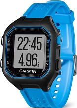 Mens Garmin Forerunner 25 Bluetooth Smart Alarm Chronograph Watch 010-01353-11