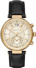 Ladies Michael Kors Sawyer Chronograph Watch MK2433