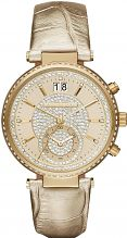 Ladies Michael Kors Sawyer Chronograph Watch MK2444