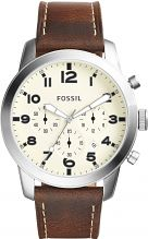 Mens Fossil Pilot Chronograph Watch FS5146