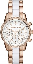Ladies Michael Kors RITZ Chronograph Watch MK6324