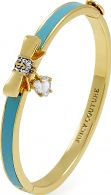 Ladies Juicy Couture PVD Gold plated BOW AND HEART BANGLE WJW808-340-U