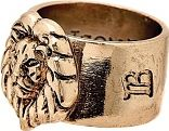Icon Brand Base metal Size Medium Fierce Ring P1075-R-GLD-MED