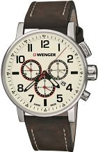 Mens Wenger Attitude Chrono Chronograph Watch 010343103