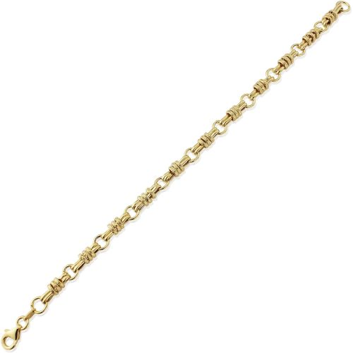 Yellow Gold Bracelet 7.5/18.5cm